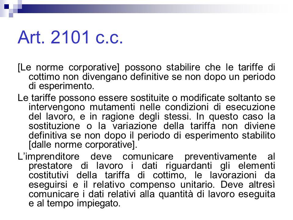 Art.2101 c.c.