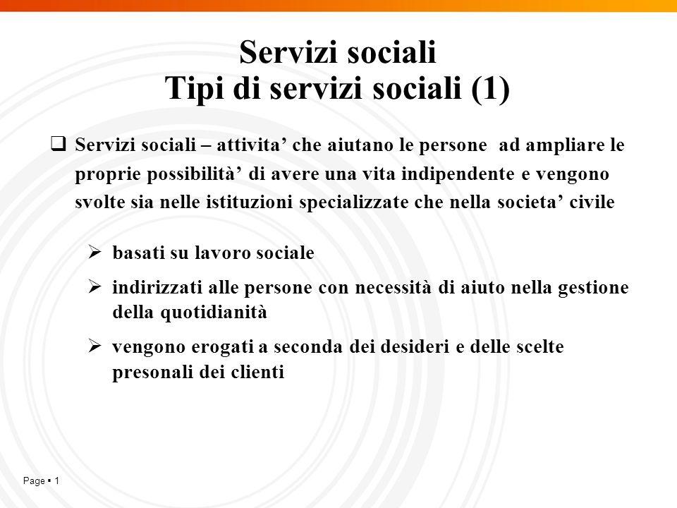 Page  12 Fornitori di servizi sociali  I servizi sociali vengono erogati da:  i comuni;  le persone fisiche bulgare, registrate ai sensi della Legge commerciale, persone giuridiche;  persone fisiche con attività commerciale, persone giuridiche registrati ai sensi della legislazione vigente in un altro paese membro dell'UE oppure da altro stato membro della SEE.