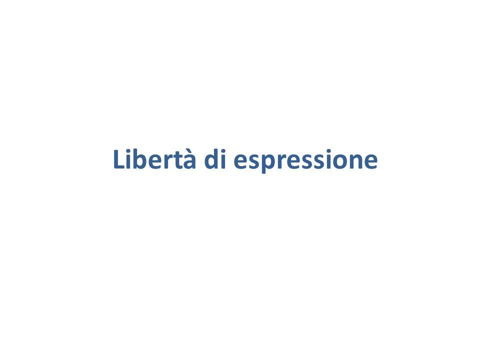 Tutti hanno diritto di manifestare liberamente il proprio pensiero con la parola, lo scritto e ogni altro mezzo di diffusione.