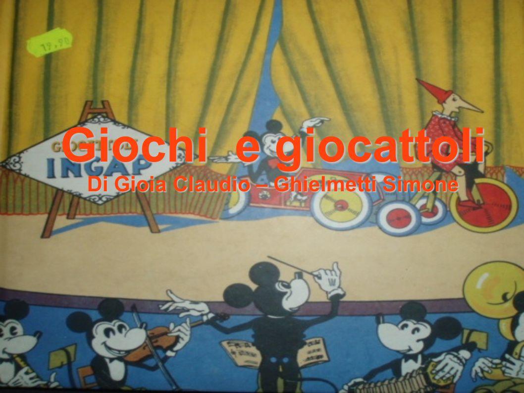 Giochi e giocattoli Di Gioia Claudio – Ghielmetti Simone