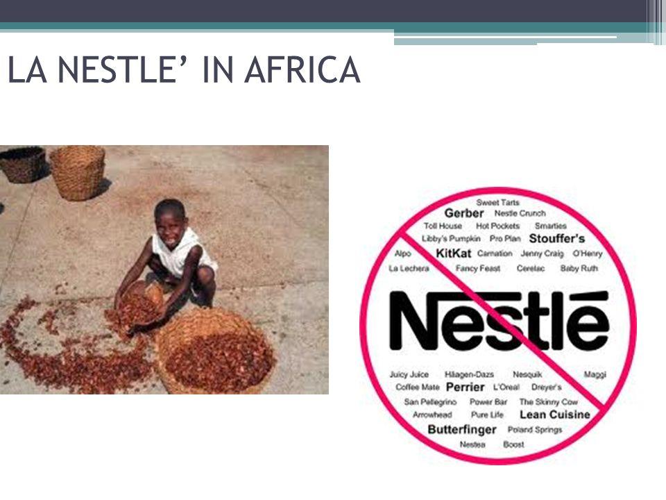 LA NESTLE' IN AFRICA