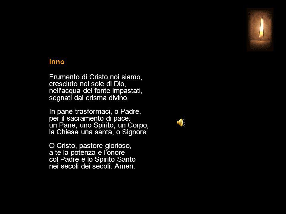 1 AGOSTO 2015 SABATO - XVII SETTIMANA DEL TEMPO ORDINARIO SANT'ALFONSO MARIA DE LIGUORI Vescovo e Dottore della Chiesa UFFICIO DELLE LETTURE INVITATOR