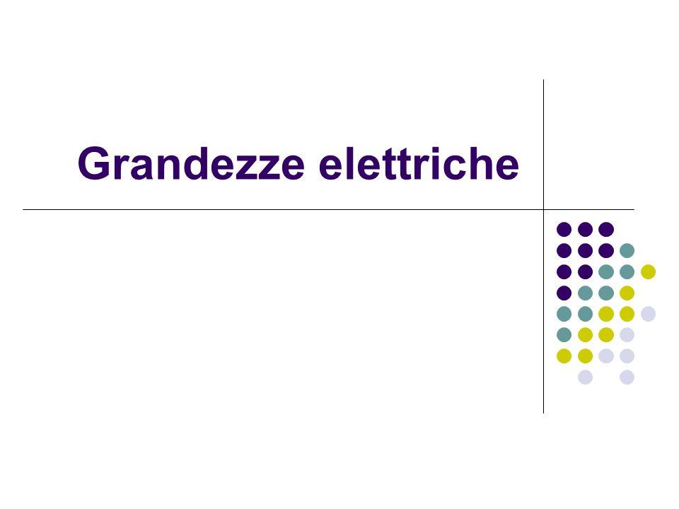 Grandezze elettriche
