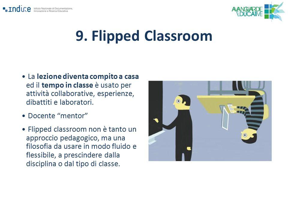 """La lezione diventa compito a casa ed il tempo in classe è usato per attività collaborative, esperienze, dibattiti e laboratori. Docente """"mentor"""" Flipp"""