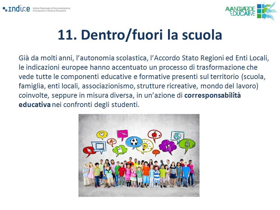 Già da molti anni, l'autonomia scolastica, l'Accordo Stato Regioni ed Enti Locali, le indicazioni europee hanno accentuato un processo di trasformazio