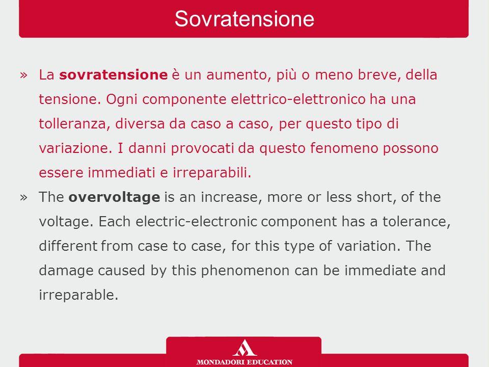 »Gli elementi tipici impiegati per le protezioni da sovratensioni e sovracorrenti sono: i fusibili; gli scaricatori di sovratensione o SPD (Surge Protective Device); gli interruttori magnetotermici.
