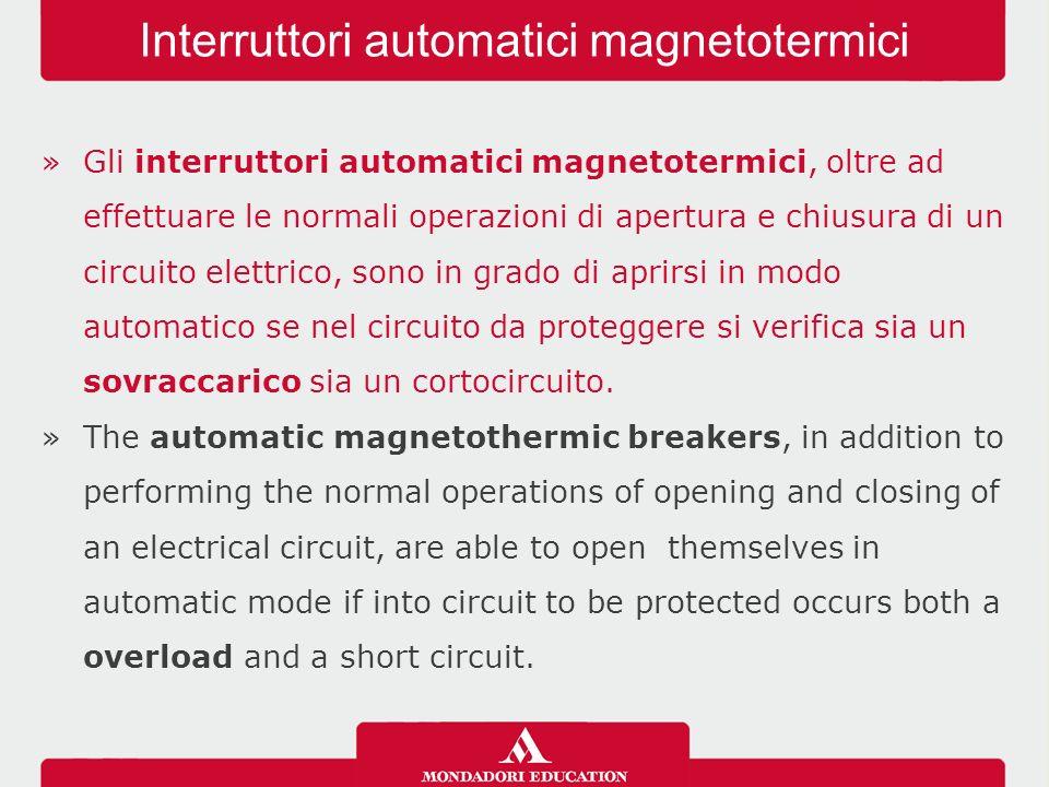 »L'interruttore differenziale è in grado di interrompere il circuito quando una piccola differenza di corrente si verifica tra due conduttori attivi.