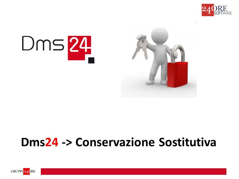 Dms24 -> Conservazione Sostitutiva