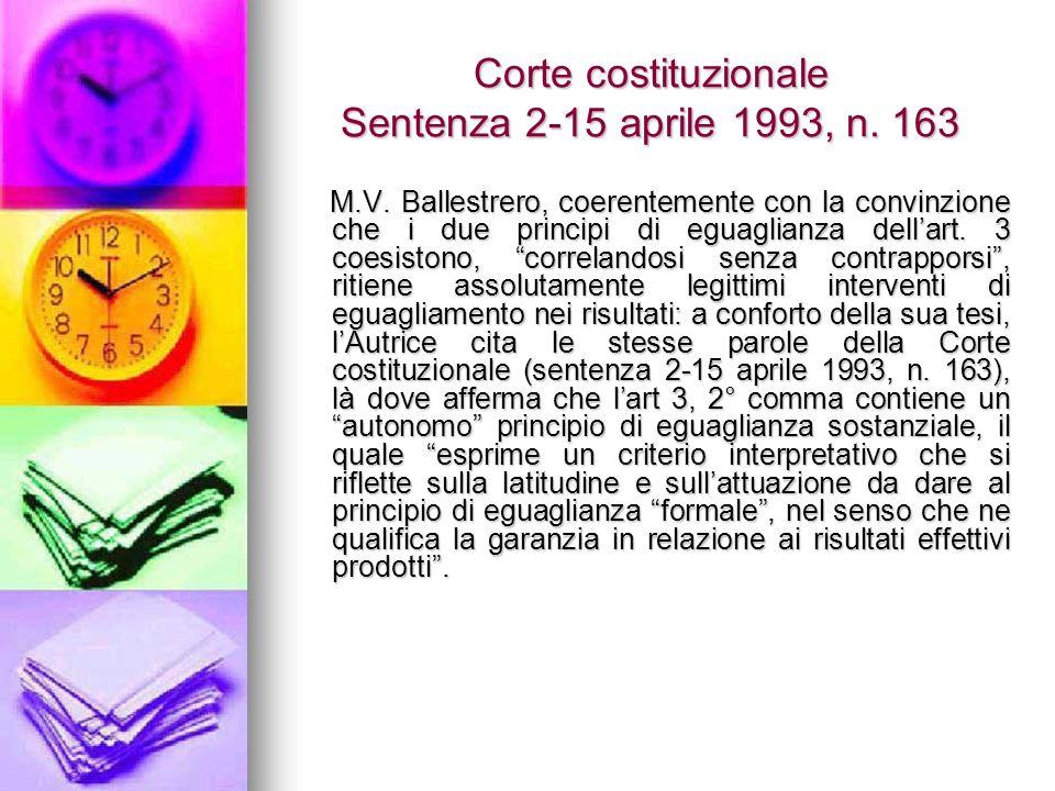 Corte costituzionale Sentenza 2-15 aprile 1993, n.