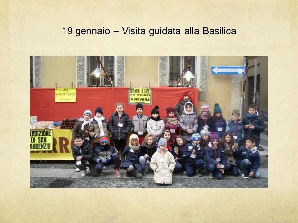 19 gennaio – Visita guidata alla Basilica