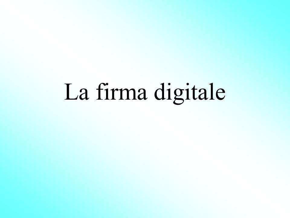 La firma digitale