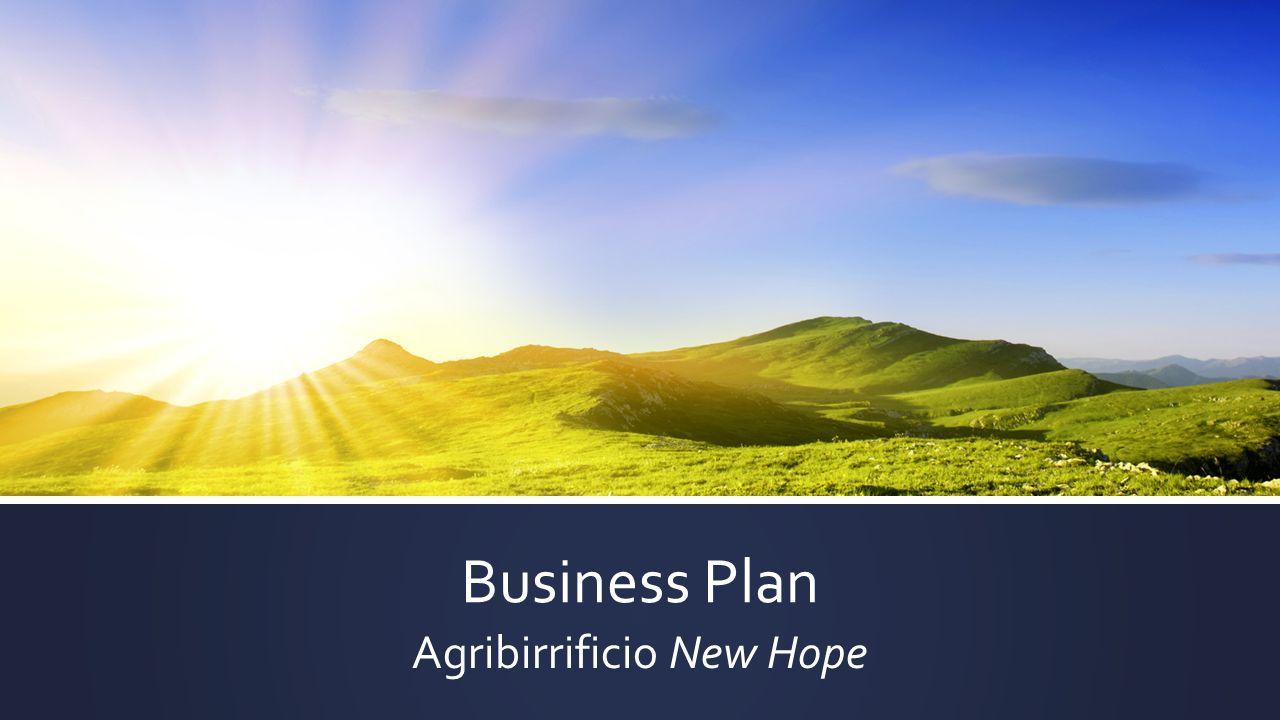 Business Plan Agribirrificio New Hope