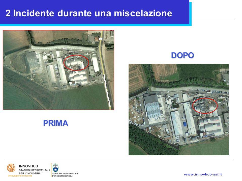 www.innovhub-ssi.it 2 Incidente durante una miscelazione PRIMA DOPO