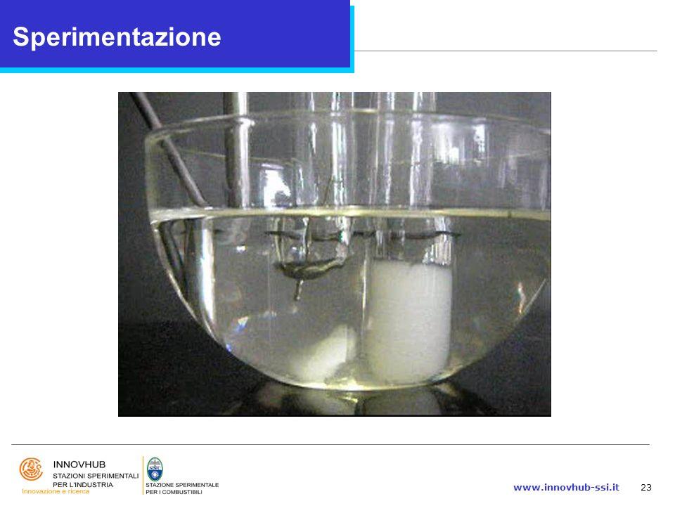 www.innovhub-ssi.it23 Sperimentazione