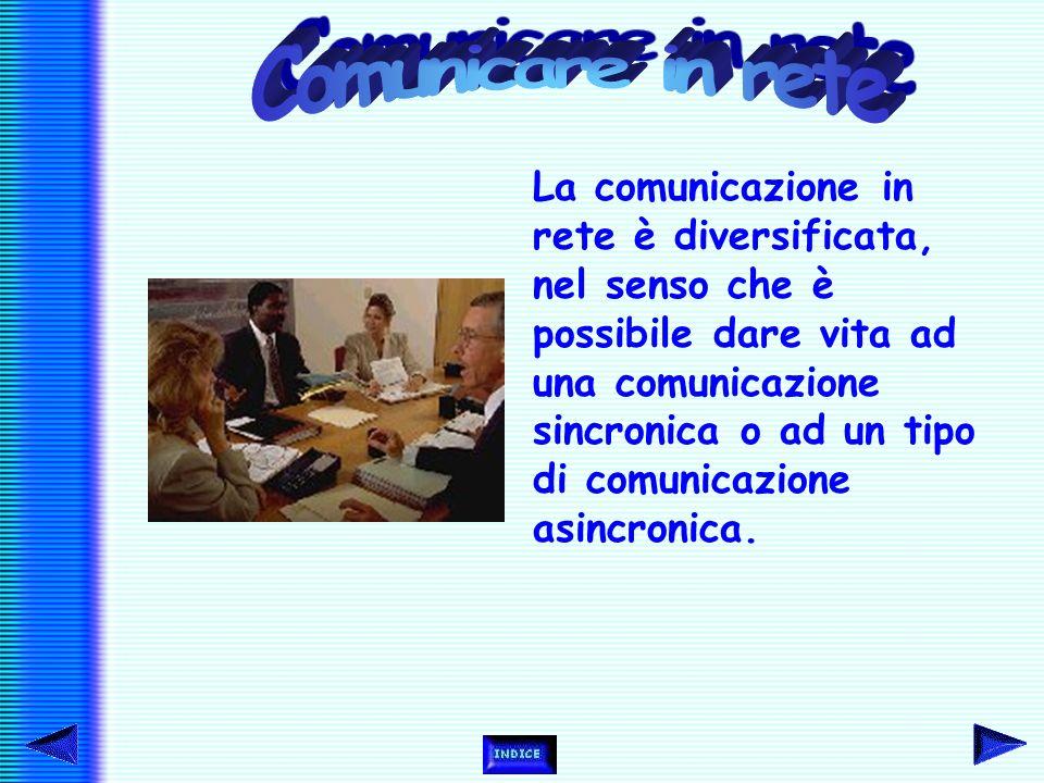 Con connessione ad Internet (che può avvenire solo se si ha computer, modem, provider e software adatti) si può anche facilitare la comunicazione tra