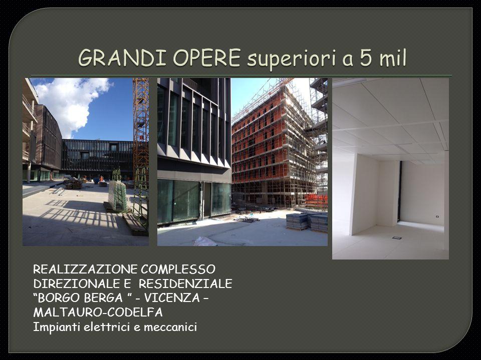 BENETTON GROUP – presidio elettrico Sostituzione QGBT generale e Q.MT – PONZANO VENETO (TV) Villa Minelli