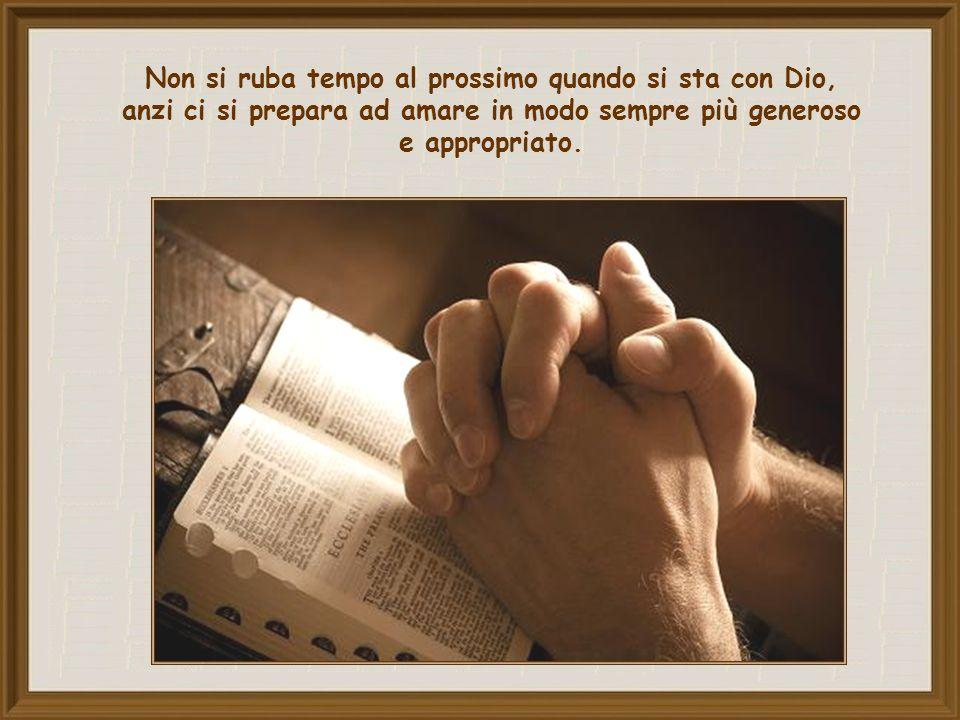 Ci ricordiamo innanzitutto che esso fa parte di un dittico inscindibile, che comprende l'amore di Dio.