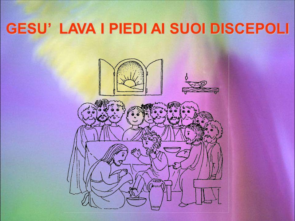 La Pasqua è ormai vicina e Gesù, seduto su un asinello, entra nella città di Gerusalemme salutato da una numerosa folla di adulti, ma soprattutto di b