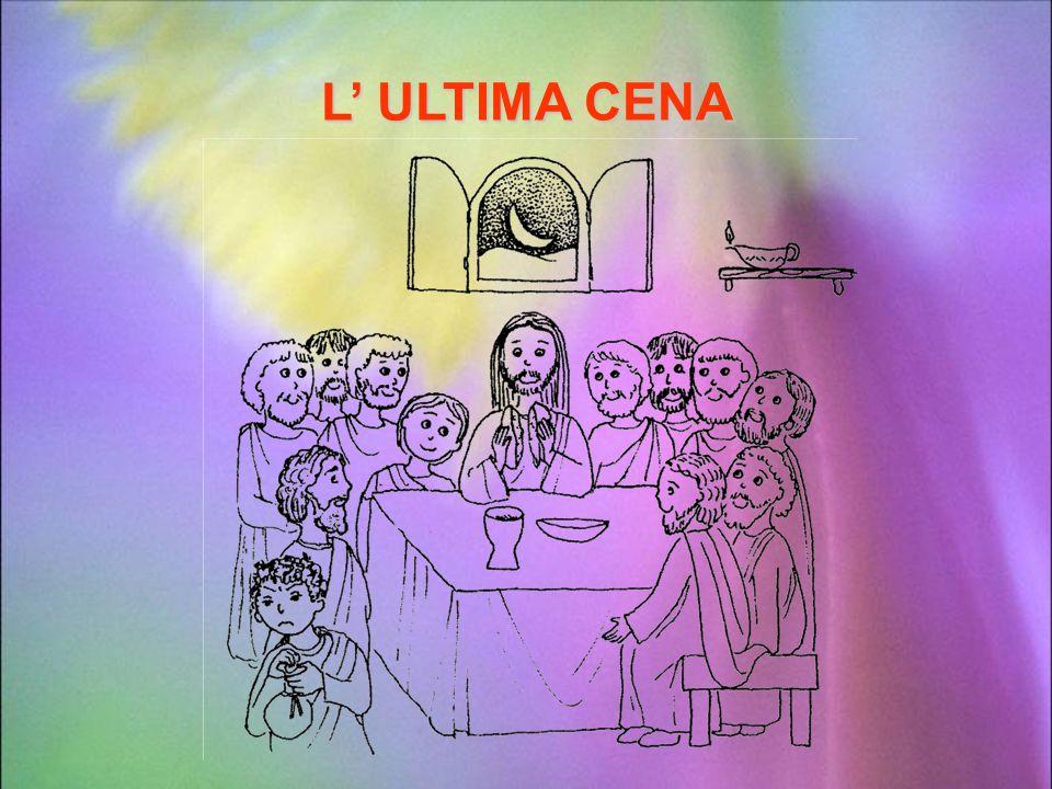 Il giovedì prima della festa di Pasqua, Gesù riunisce i suoi apostoli per la grande cena durante la quale ogni Israelita ricordava come Dio aveva libe