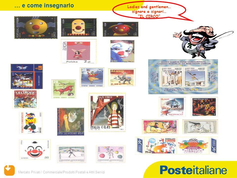 Mercato Privati / Commerciale/Prodotti Postali e Altri Servizi Ladies and gentlemen… signore e signori… IL CIRCO … e come insegnarlo