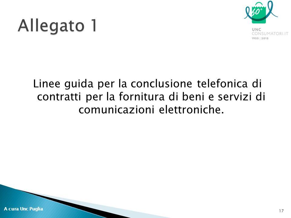 Linee guida per la conclusione telefonica di contratti per la fornitura di beni e servizi di comunicazioni elettroniche.