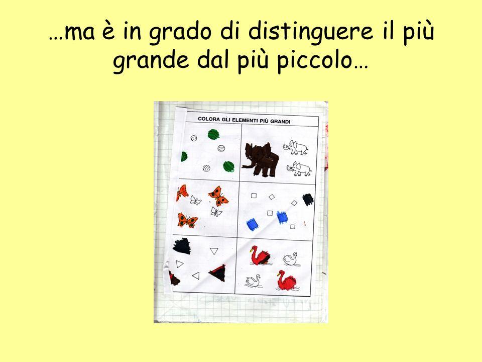 … i segni grafici sono irregolari… (compito svolto alla fine della 1^ elementare)