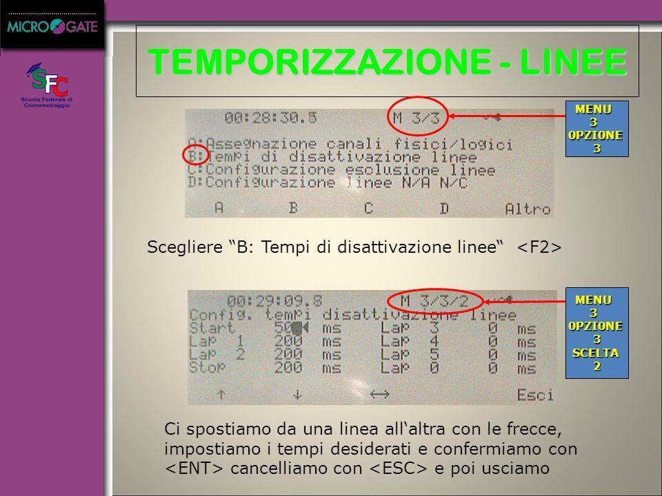 A: Gestione gare B: Modifica configurazione base C: Stato linee D: Semaforo AB C D altro ~ 9:20:35.8 F1F2F3F4F5 A: Rei2 Net B: Configurazione Rei2 Net