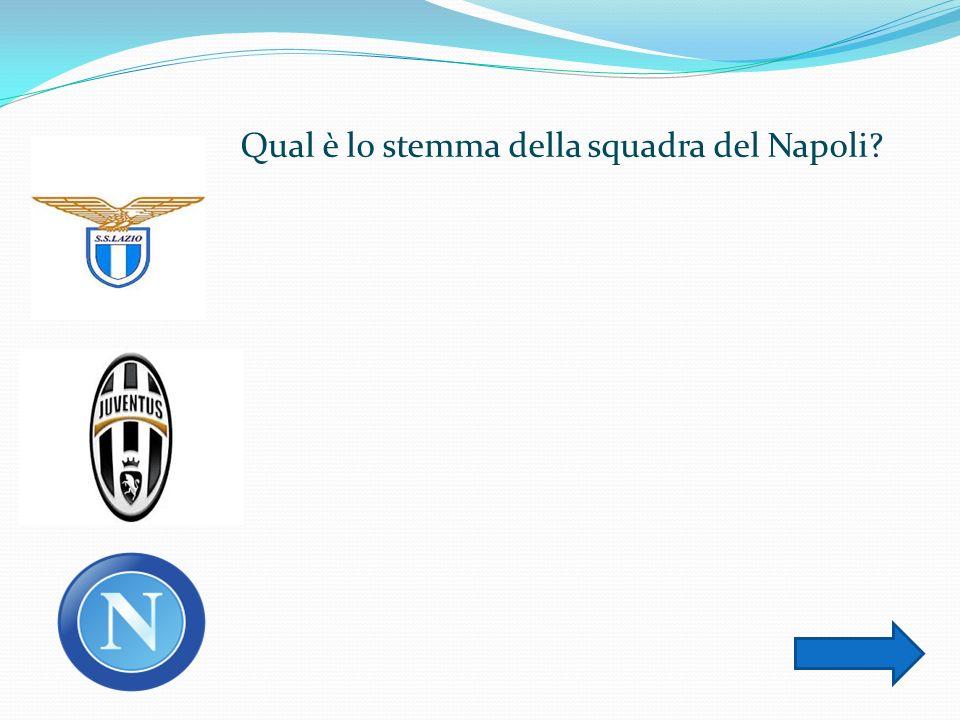 Qual è lo stemma della squadra del Napoli
