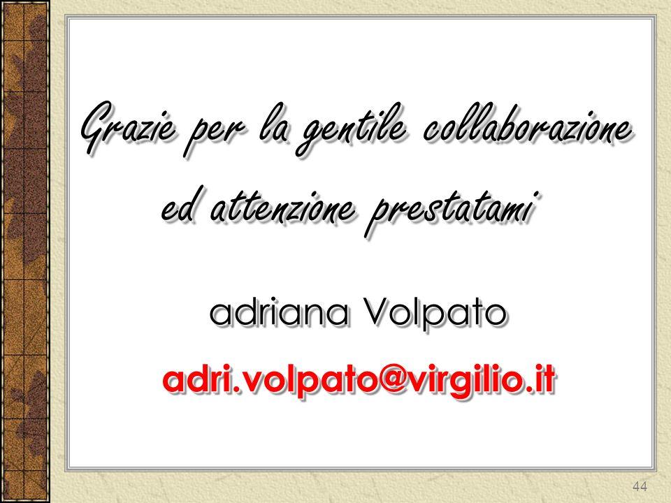 DIARIO gestione del DIARIO Adriana Volpato