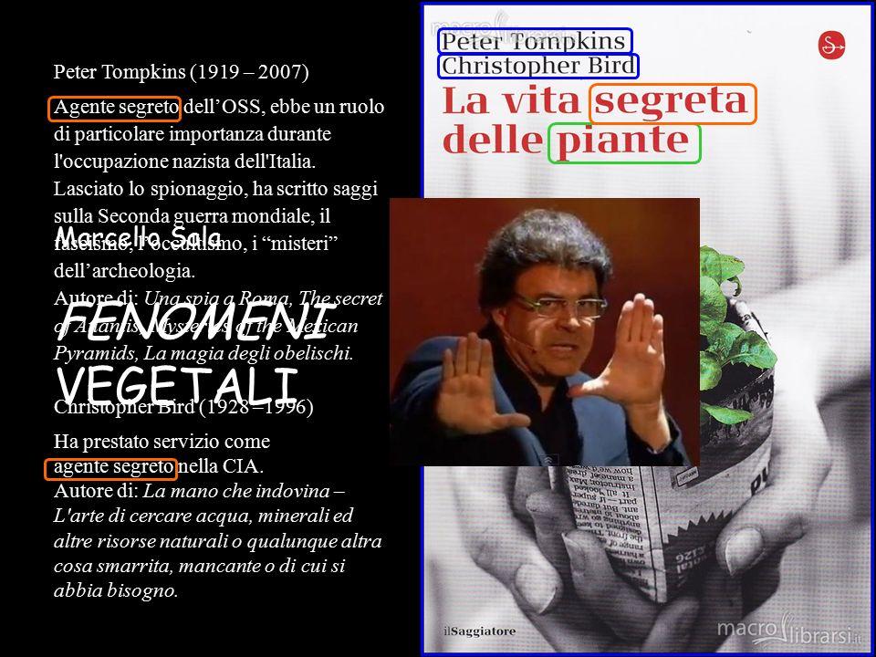 'Fenomeno': dal greco phainomenon = ciò che è manifesto (il contrario di 'segreto') Marcello Sala FENOMENI VEGETALI