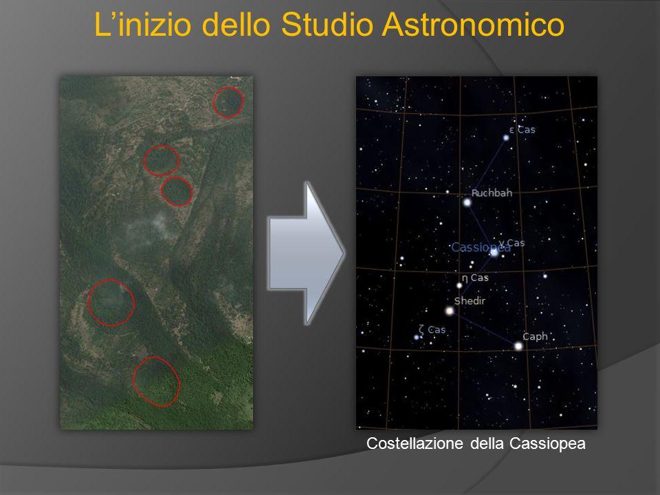 L'inizio dello Studio Astronomico Costellazione della Cassiopea