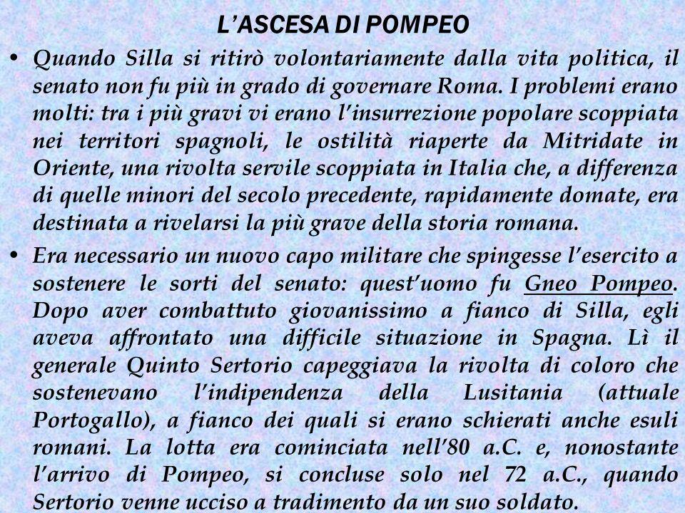 Sulla strada del ritorno dalla penisola iberica Pompeo riuscì a riportare un'ulteriore vittoria.