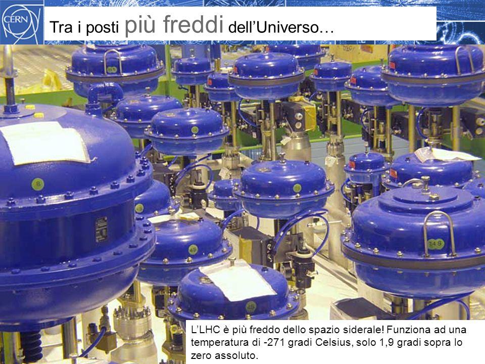 Methodology Tra i posti più freddi dell'Universo… L'LHC è più freddo dello spazio siderale.