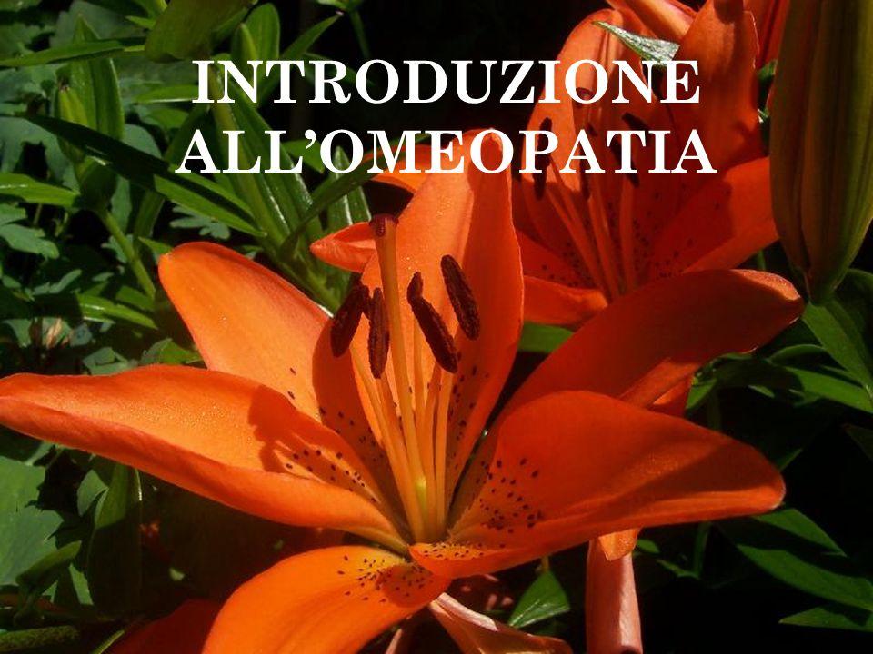 OMEOPATIA L'omeopatia è una terapia olistica di carattere energetico.