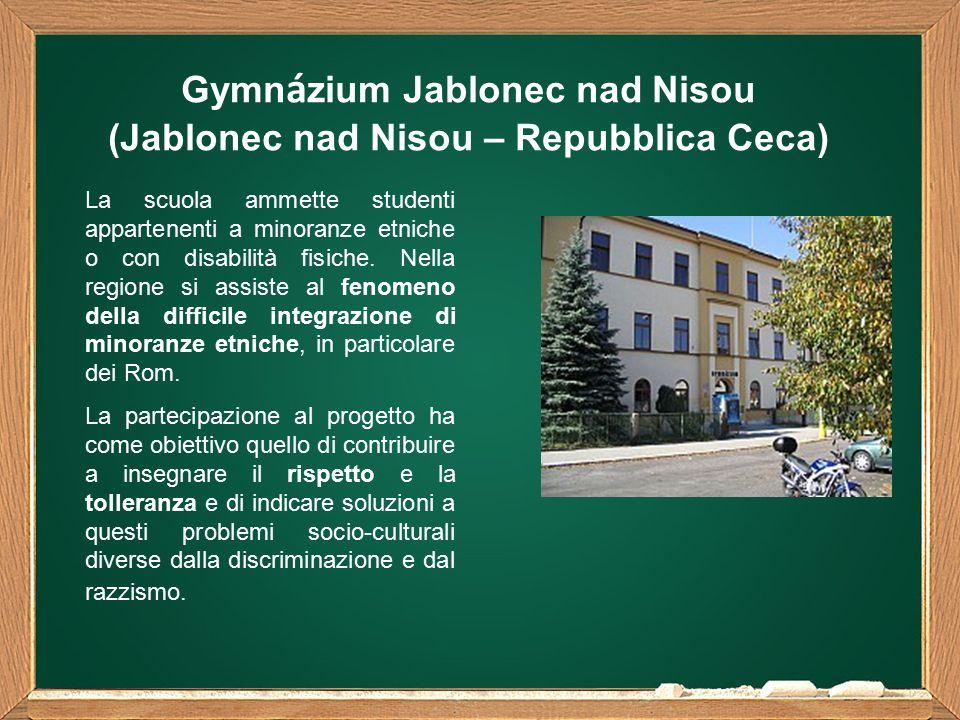 La scuola ammette studenti appartenenti a minoranze etniche o con disabilità fisiche.