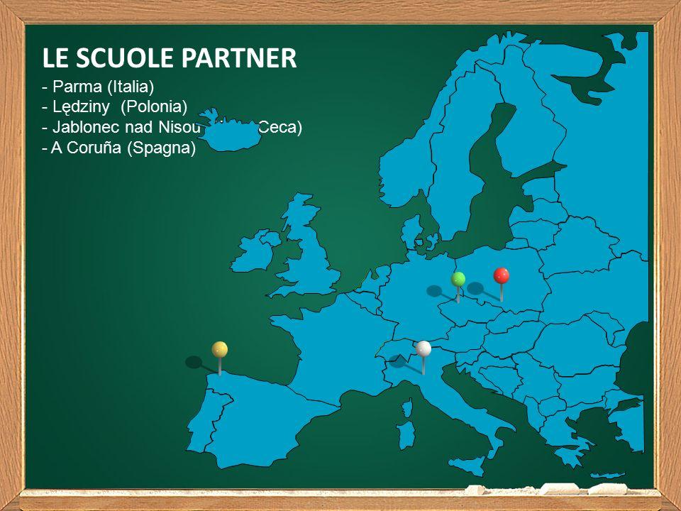 LE SCUOLE PARTNER - Parma (Italia) - Lędziny (Polonia) - Jablonec nad Nisou (Rep.