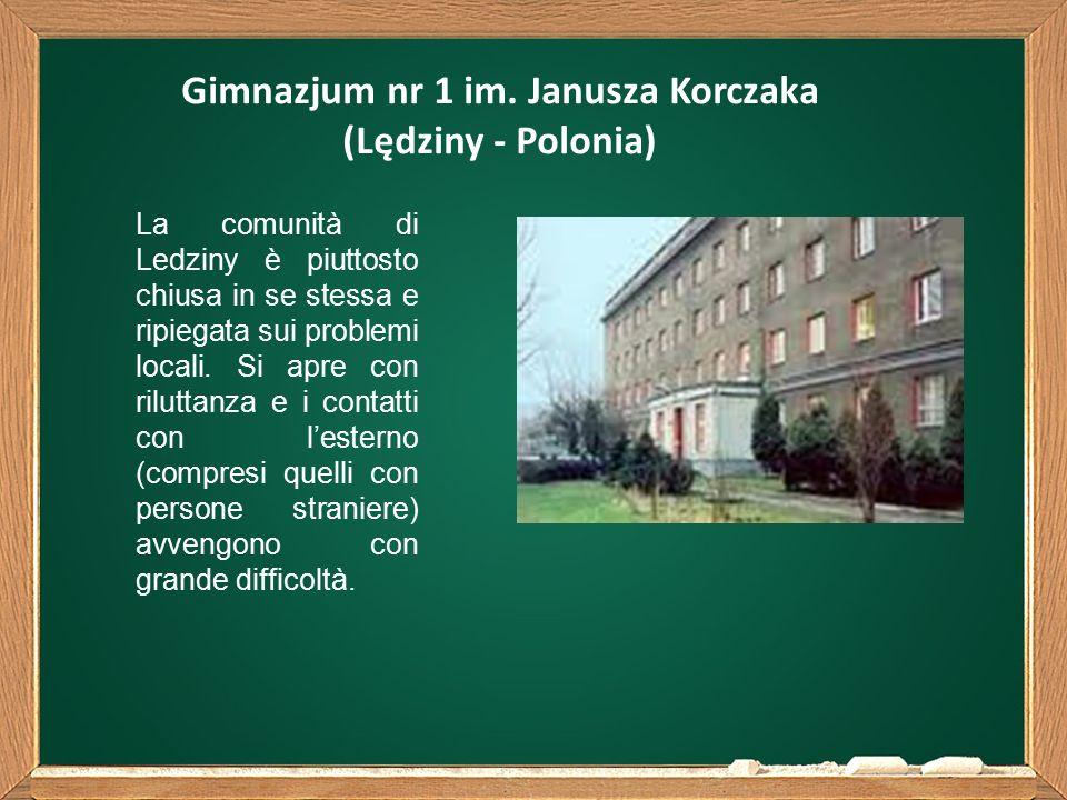 La comunità di Ledziny è piuttosto chiusa in se stessa e ripiegata sui problemi locali.