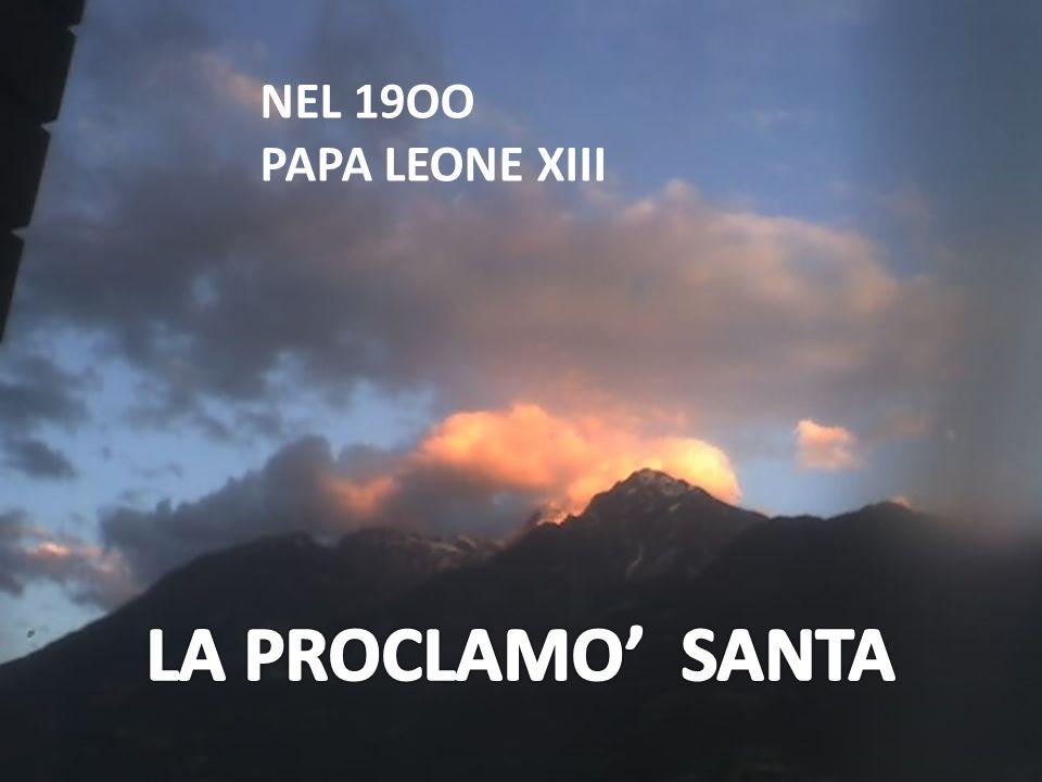 NEL 19OO PAPA LEONE XIII