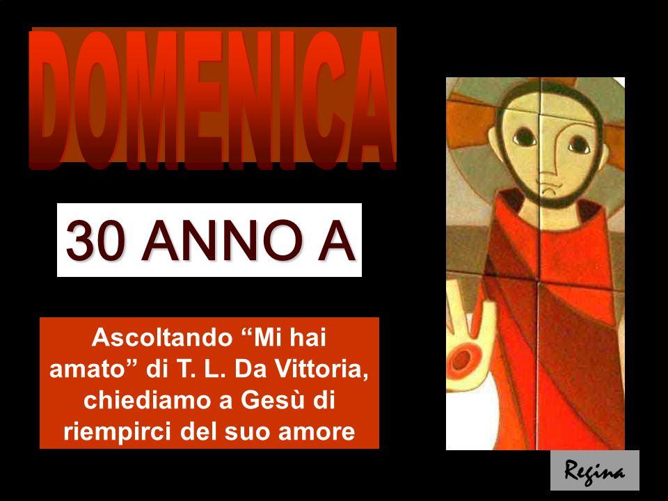 5ª Parte del vangelo di Matteo (c21-25): Il tuo Re entra umilmente in Gerusalemme Discussioni a Gerusalemme: -Discussione sull'autorità di Gesù · Parabola dei 2 figli (dom26) · Parabola dei vignaioli omicidi (dom27) · Parabola degli invitati a nozze (dom28) -Discussione su Cesare e Dio (dom29) -Discussione sul comandamento più grande (dom30) · Parabola dei vignaioli omicidi (dom27) · Parabola degli invitati a nozze (dom28) -Discussione su Cesare e Dio (dom29) -Discussione sul comandamento più grande (dom30) A destra: cupole del S.