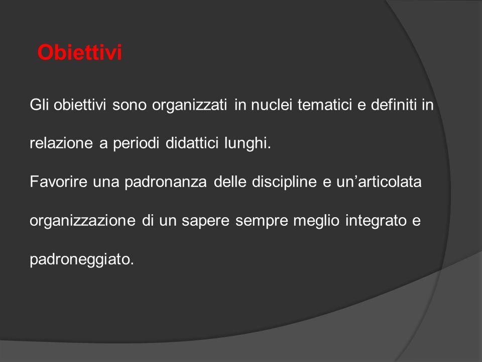 Finalità Sviluppo armonico e integrale della persona,all'interno dei principi della Costituzione italiana e della tradizione culturale europea, nella