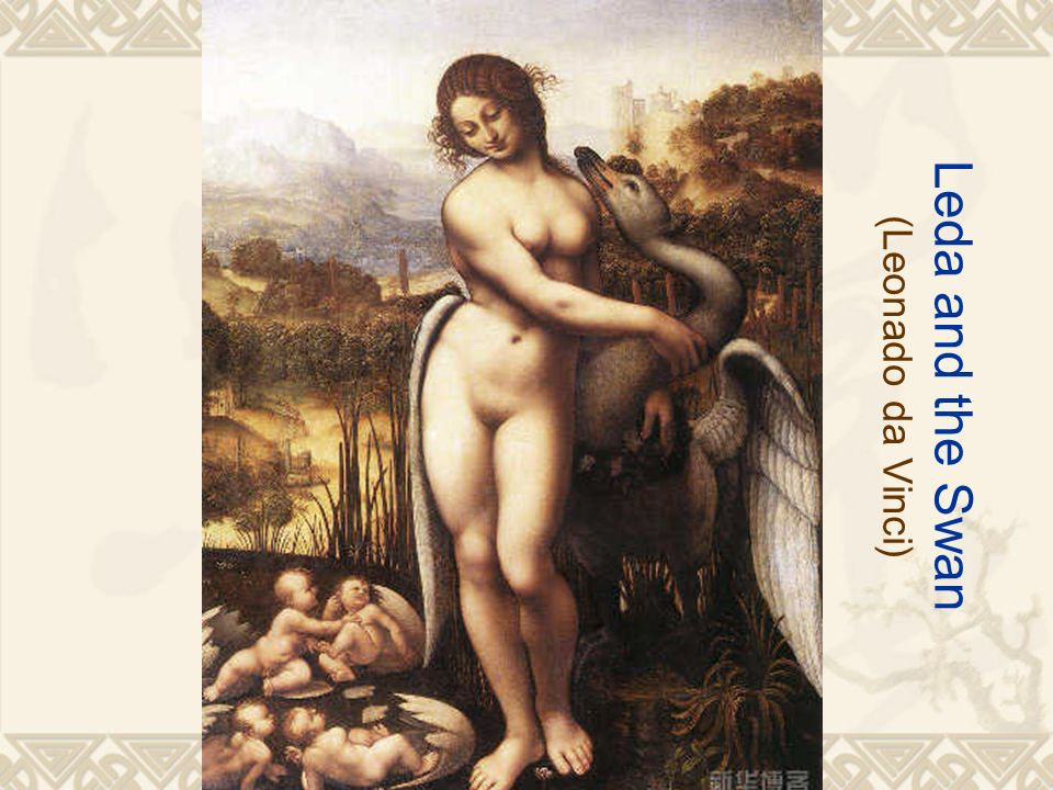 Leda and the Swan (Leonado da Vinci)