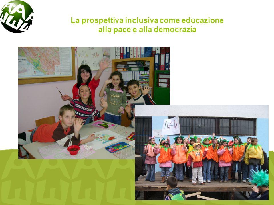 Cooperazione e aiuto internazionale in campo educativo La prospettiva inclusiva come educazione alla pace e alla democrazia