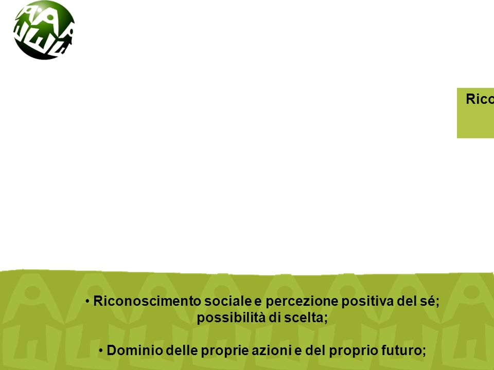 Cooperazione e aiuto internazionale in campo educativo Favorire la costruzione di reti di relazioni d aiuto Definizione di strumenti di gestione dal basso di informazioni sensibili e qualitative per favorire un'inserzione piu' efficace nei territori Conoscere, organizzare e fronteggiare le situazioni specifiche di disagio, intervenendo nell'ottica dell'intervento individuale, ma in una prospettiva complessa di rete Collegare e integrare professionalita', competenze e punti di vista atomizzati e frammentari.