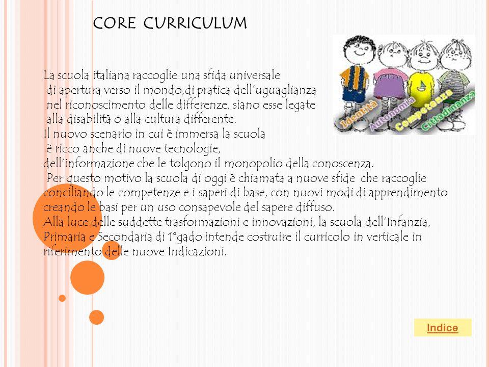 """""""Nella consapevolezza della relazione che unisce cultura, scuola e persona, la finalità generale della scuola è lo sviluppo armonico e integrale della"""