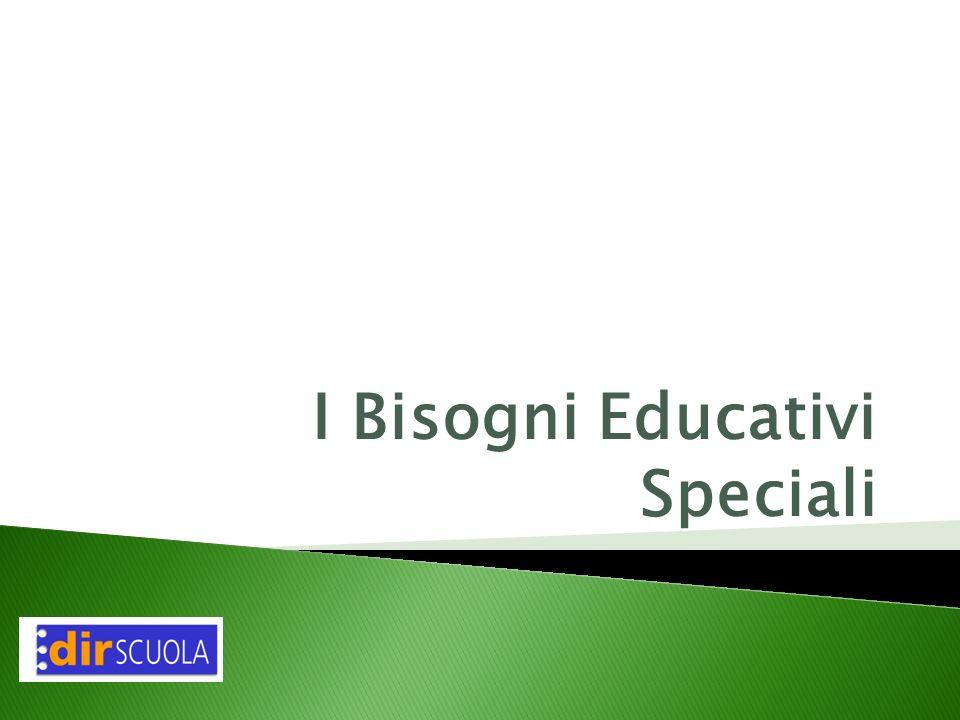 I Bisogni Educativi Speciali