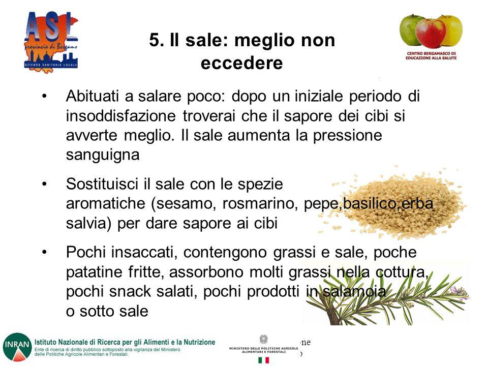 Progetto promosso dalla Direzione Sanitaria dell ASL di Bergamo 5.