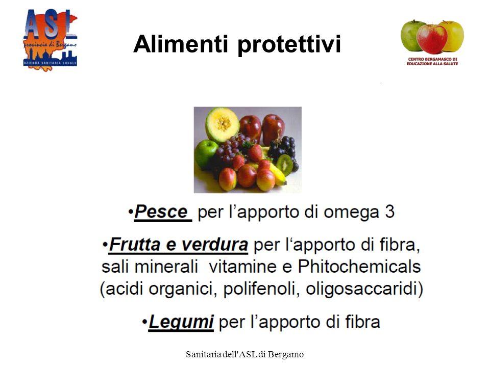 Progetto promosso dalla Direzione Sanitaria dell ASL di Bergamo Alimenti protettivi