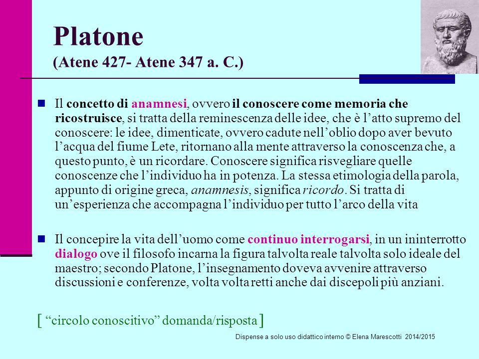 Platone (Atene 427- Atene 347 a.