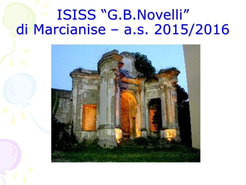 "ISISS ""G.B.Novelli"" di Marcianise – a.s. 2015/2016"