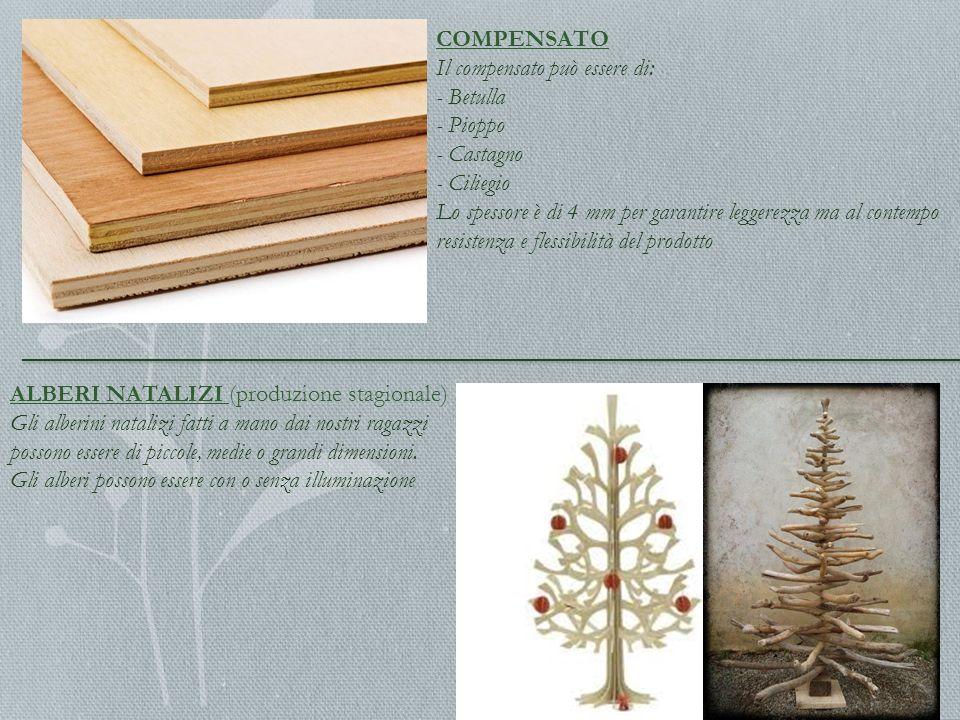 PALETTI DI LEGNO Woodcoop produce pali di legno di varie dimensioni per sostenere frutteti e fare recinzioni CIPPATO Il cippato si ottiene con i residui organici restanti dai vari processi produttivi
